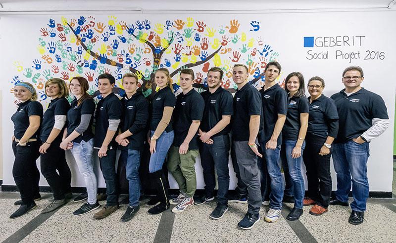 Geberit Sozialprojekt 2016 - Tag 11