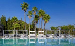 El Mediterráneo más GANDIABLASCO en las piscinas de 4 hoteles singulares