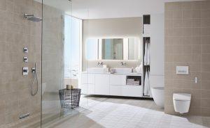 Gana espacio y diseño en tu baño con las cisternas empotradas Geberit