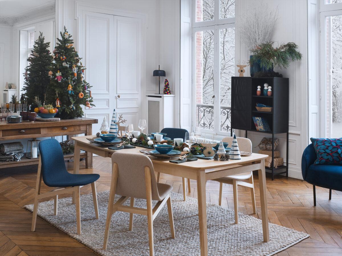 Mesa navideña Habitat