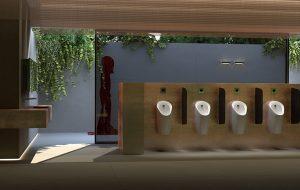 Preda y Selva: Geberit introduce el diseño en los urinarios públicos