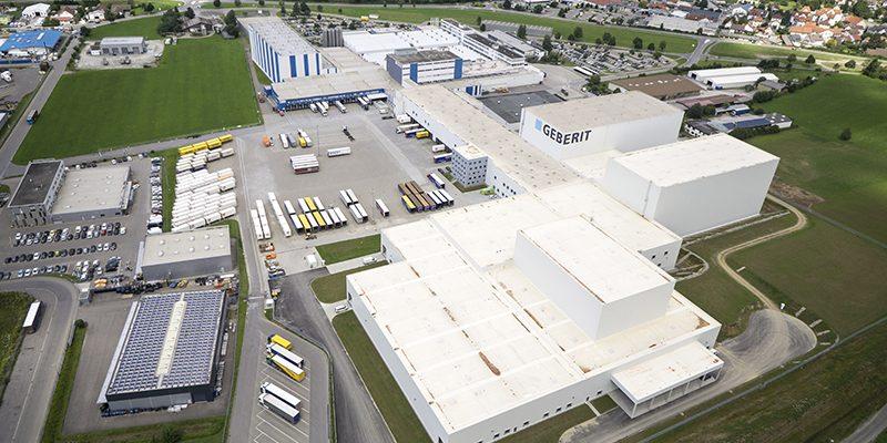 Entra en funcionamiento el nuevo centro logístico de Geberit